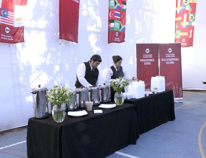 Evento UNAB Feria Iinternacional