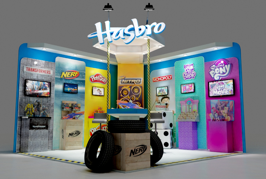 Stand Hasbro Holliday Meeting 2017